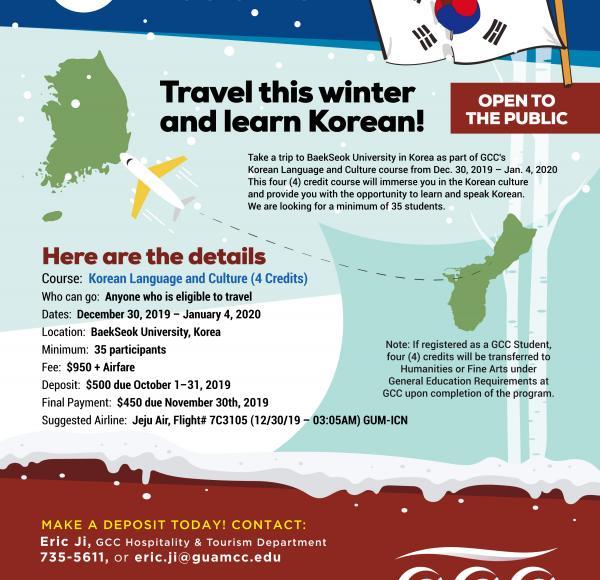 Learn Korean this Winter!