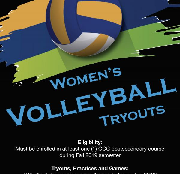 GCC Women's Volleyball Tryouts