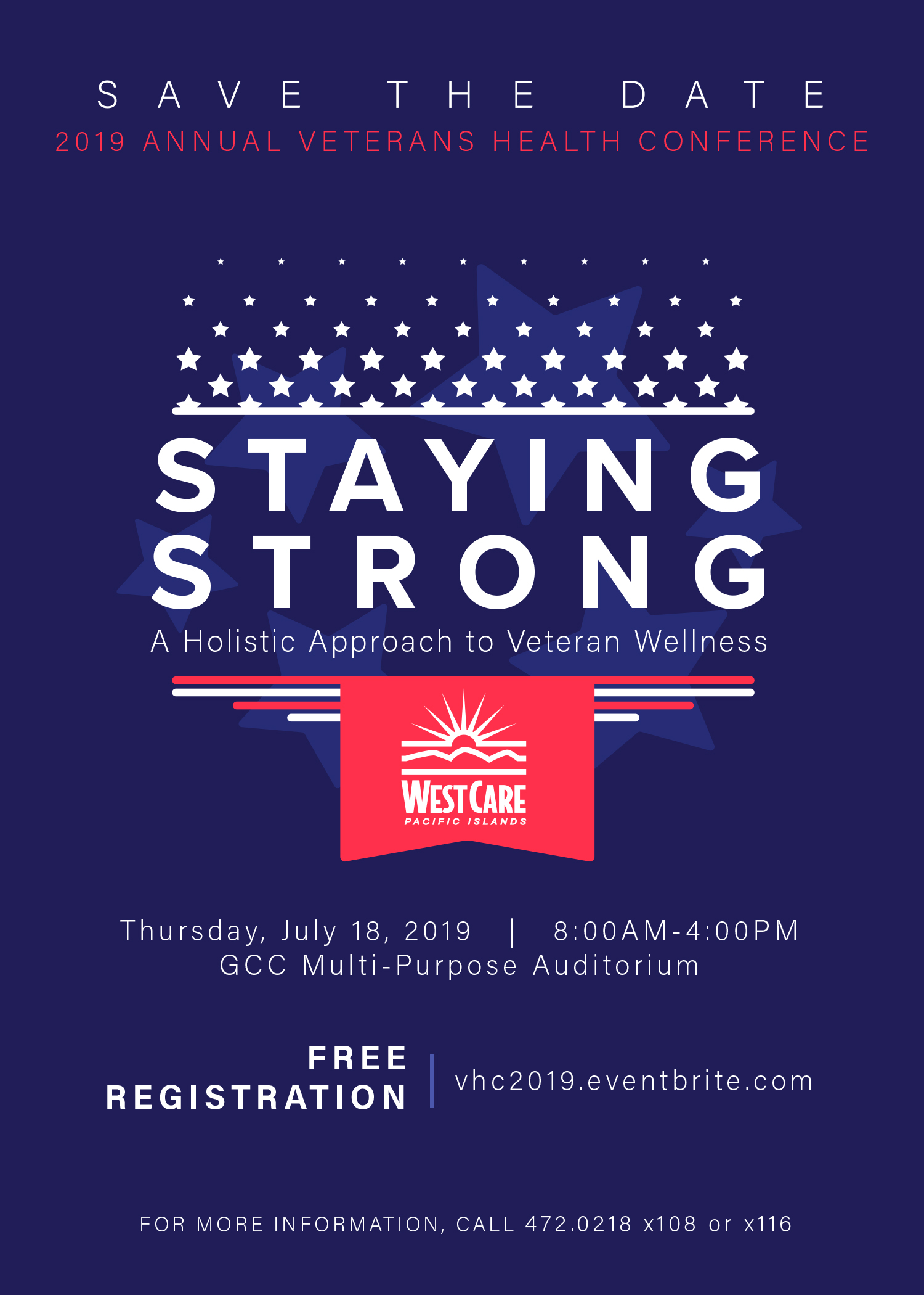 2019 Annual Veterans Health Conference - Guam Community